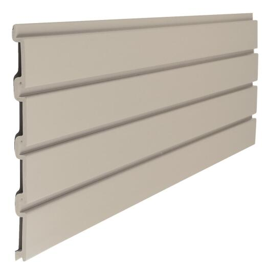 Suncast 12 in. H x 48 in. W Resin Slatwall, Tan