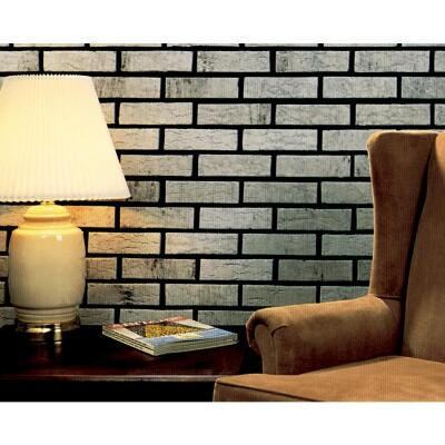 Z-Brick Americana 2-1/4 In. x 8 In. Silver Facing Brick