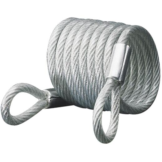 Master Lock 6 Ft. x 1/4 In. Self-Coiling Cable