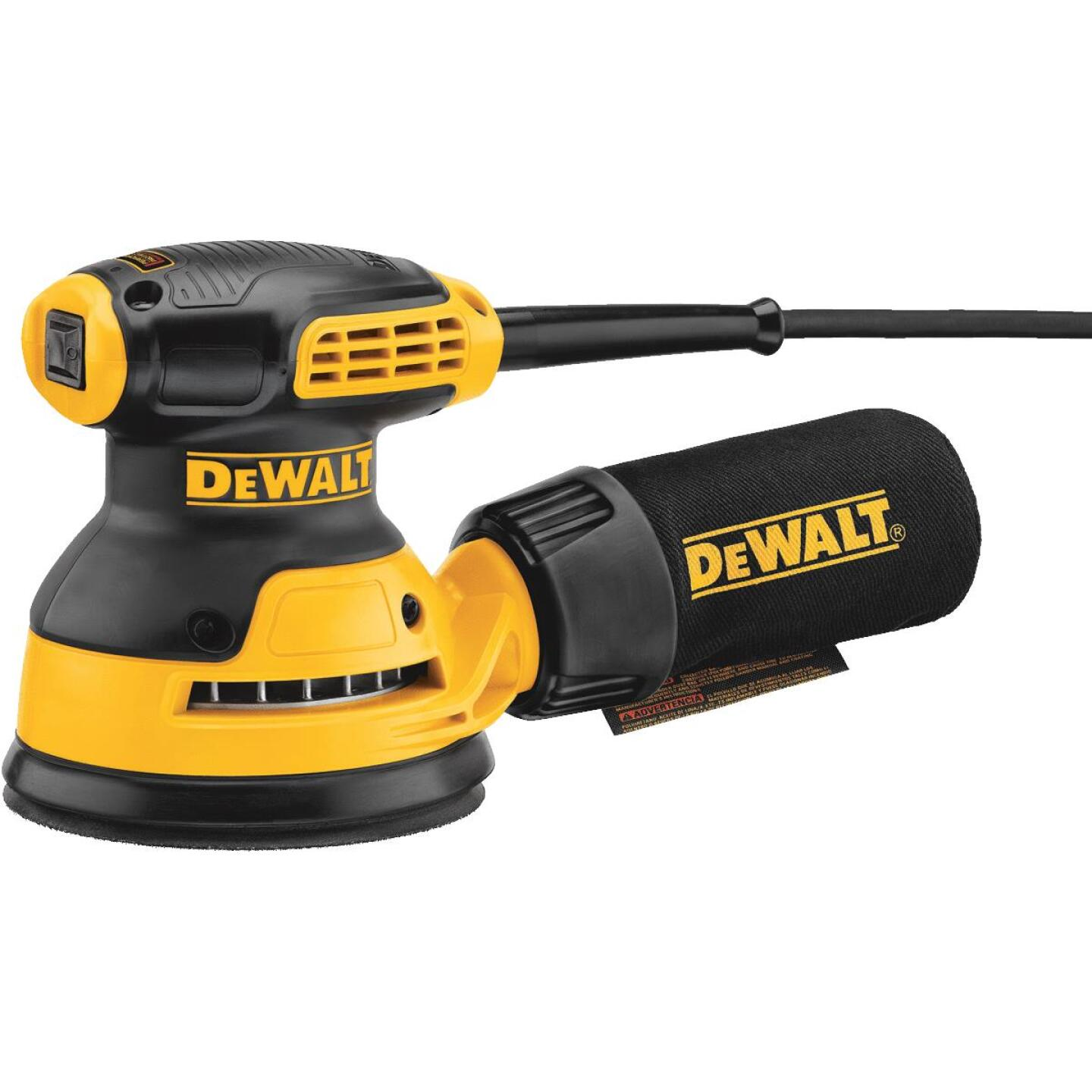 DeWalt 5 In. 3.0A Random Orbit Finish Sander Image 1