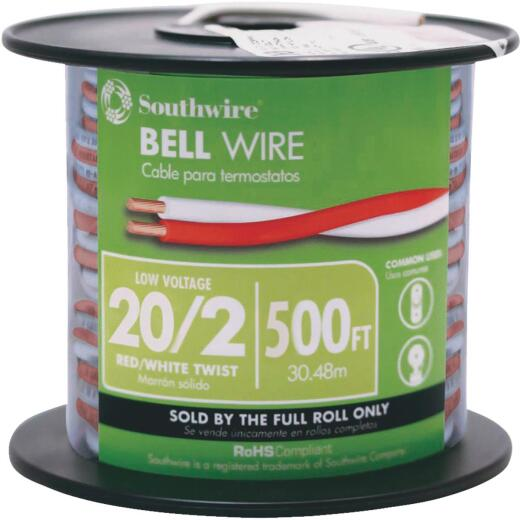 Coleman Cable 500 Ft. 20AWG Bell Wire