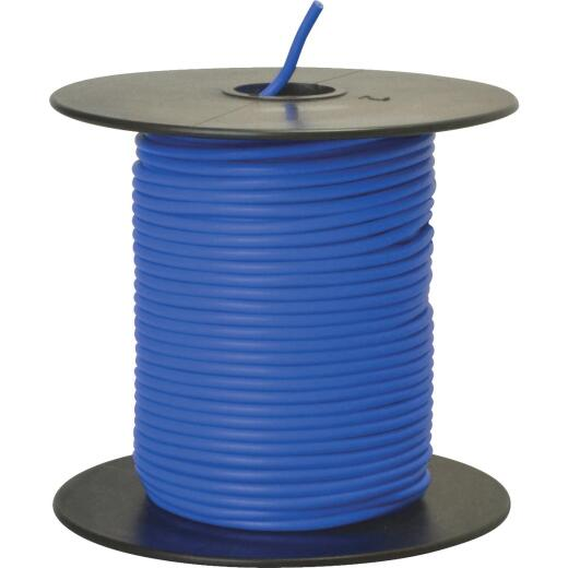 ROAD POWER 100 Ft. 18 Ga. PVC-Coated Primary Wire, Blue