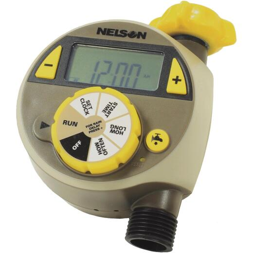 Nelson Electronic Single Outlet Watering Timer