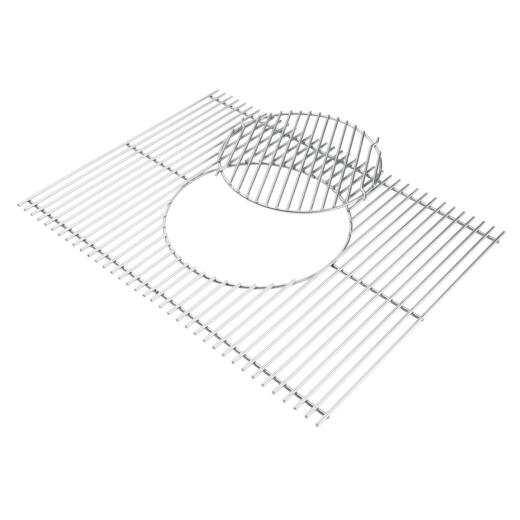 Weber Gourmet Barbeque System 19.5 In. W. x 13 In. D. Stainless Steel Grill Grate