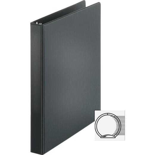 Business Source 1 In. Black 3-Ring Binder